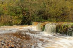 Lynn falls, Dalry Royalty Free Stock Photos