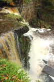 Lynn falls, Dalry Royalty Free Stock Photography