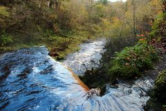 Lynn falls, Dalry Stock Photography
