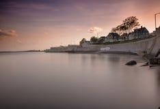 Lynn strand Arkivfoto