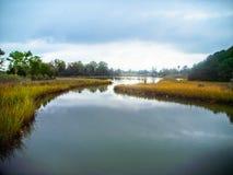 Lynnhaven wpusta dom Brock Środowiskowa podstawa w Virginia plaży Virginia fotografia stock