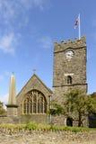 Lynton church , Devon Stock Photos