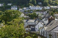 Lynton cityscape , Devon Stock Image