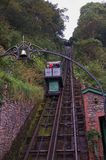 Lynton & Lynmouth cliff Railway Royalty Free Stock Images