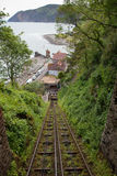 Lynton and Lynmouth Railway Stock Images