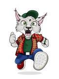 Lynx de vecteur Images libres de droits