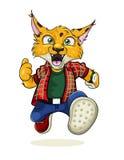 Lynx de vecteur Photo stock