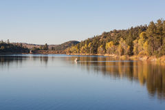 Lynx Lake in Fall Royalty Free Stock Image