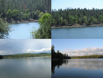 Lynx Lake and Hawley Lake Arizona Stock Image