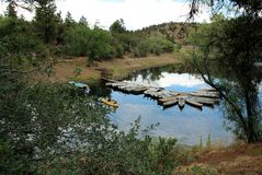 Lynx Lake, Prescott, Yavapai County, Arizona Stock Photos