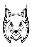 Lynx mascot Royalty Free Stock Photo