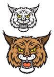 Lynx mascot Stock Photo