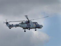 Lynx Mk 8 Helicopter Stock Photography