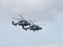 Lynx Mk 8 Helicopter Royalty Free Stock Image
