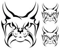 Lynx tattoo Stock Photos