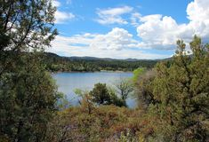 Lynxmeer, Prescott, Yavapai-Provincie, Arizona Royalty-vrije Stock Foto's
