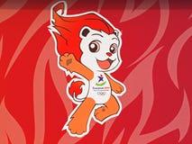 LYO - Mascotte di Olimpiadi della gioventù di Singapore Fotografia Stock Libera da Diritti