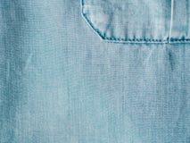 Lyocell o struttura blu del modello del denim del tencel fotografie stock