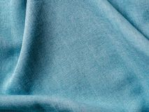 Lyocell o struttura blu del modello del denim del tencel immagine stock