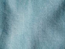 Lyocell or tencel blue denim pattern texture. Modern soft jeans blouse texture close up. Lyocell or tencel pattern - modern natural cellulose fabric blue denim royalty free stock photos
