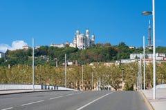 Lyon в утре Стоковое Фото