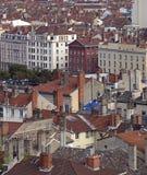 Lyon aérien Photographie stock