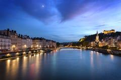 Lyon blåtttimme Fotografering för Bildbyråer