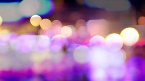 Lyon bokeh lights. Video of lyon bokeh lights stock footage