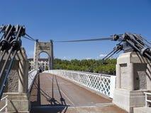 Lyon bridge Royalty Free Stock Image