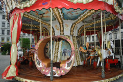 Lyon Carousel Royalty Free Stock Photography