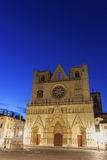Lyon Cathedral in France Stock Photography