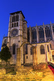 Lyon Cathedral in France Royalty Free Stock Images