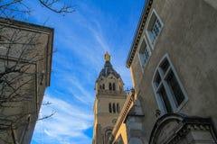 Cathedral notre-dame de fourviere,  Lyon Stock Image