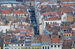 Lyon City Center Stock Photos