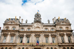 Lyon City Hall, Hotel de Ville Stock Image