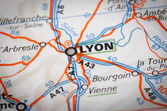 Lyon Royalty Free Stock Photography