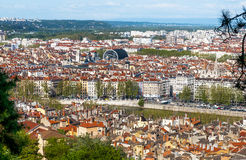 Lyon city Royalty Free Stock Photo