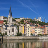 Lyon cityscape Stock Photos