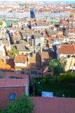 Lyon, daken Royalty-vrije Stock Afbeeldingen
