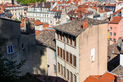Lyon, daken Royalty-vrije Stock Foto