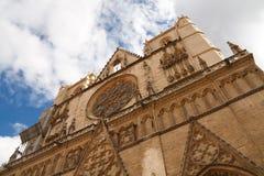 lyon för jean för baptistedomkyrkacathedrale saint Royaltyfri Bild