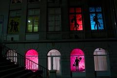 Lyon Festival of Lights 2008 Stock Photo