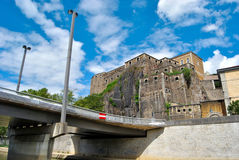 Lyon, Fort Heiliges Jean Lizenzfreies Stockfoto