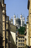 Lyon Fourviere Stock Photography
