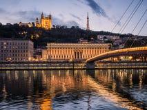 Lyon, France Imagens de Stock Royalty Free