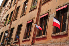 Lyon, France - april 13 2016: the picturesque city Stock Photos