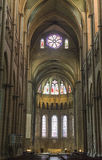 Lyon (France) - Cathedral interior Stock Image