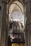 Lyon (France) - Cathedral interior Royalty Free Stock Image