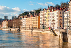 Lyon, France, golden hour Stock Image