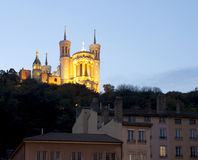 Lyon, France - October 27, 2013 : The Lanscape of the Fourviere Royalty Free Stock Image